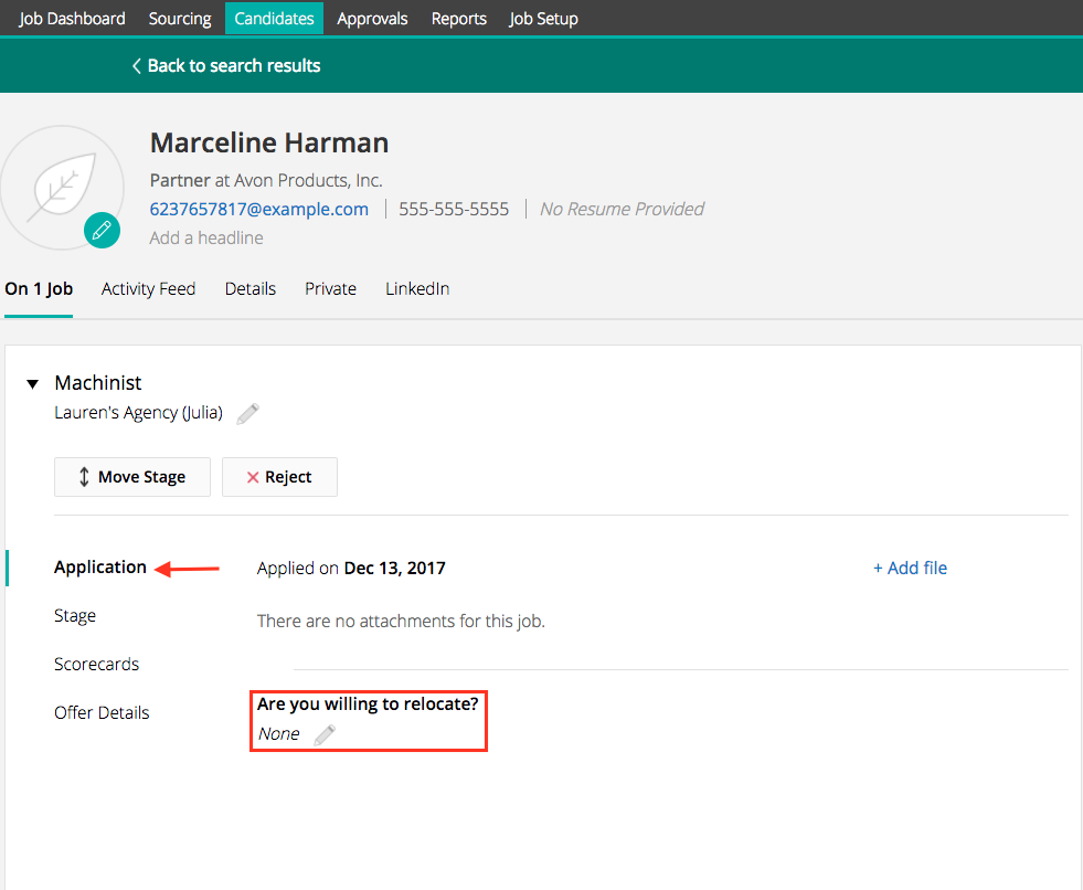 custom application fields greenhouse support