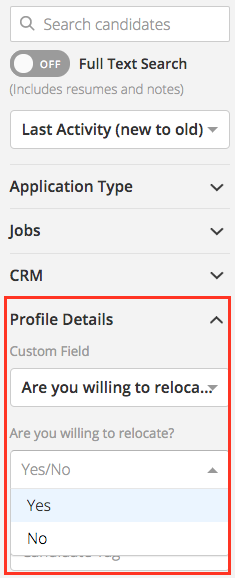 You Can Use Other Filters In The List To Further Filter Your Results.