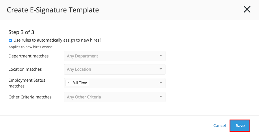 create e signature template greenhouse support