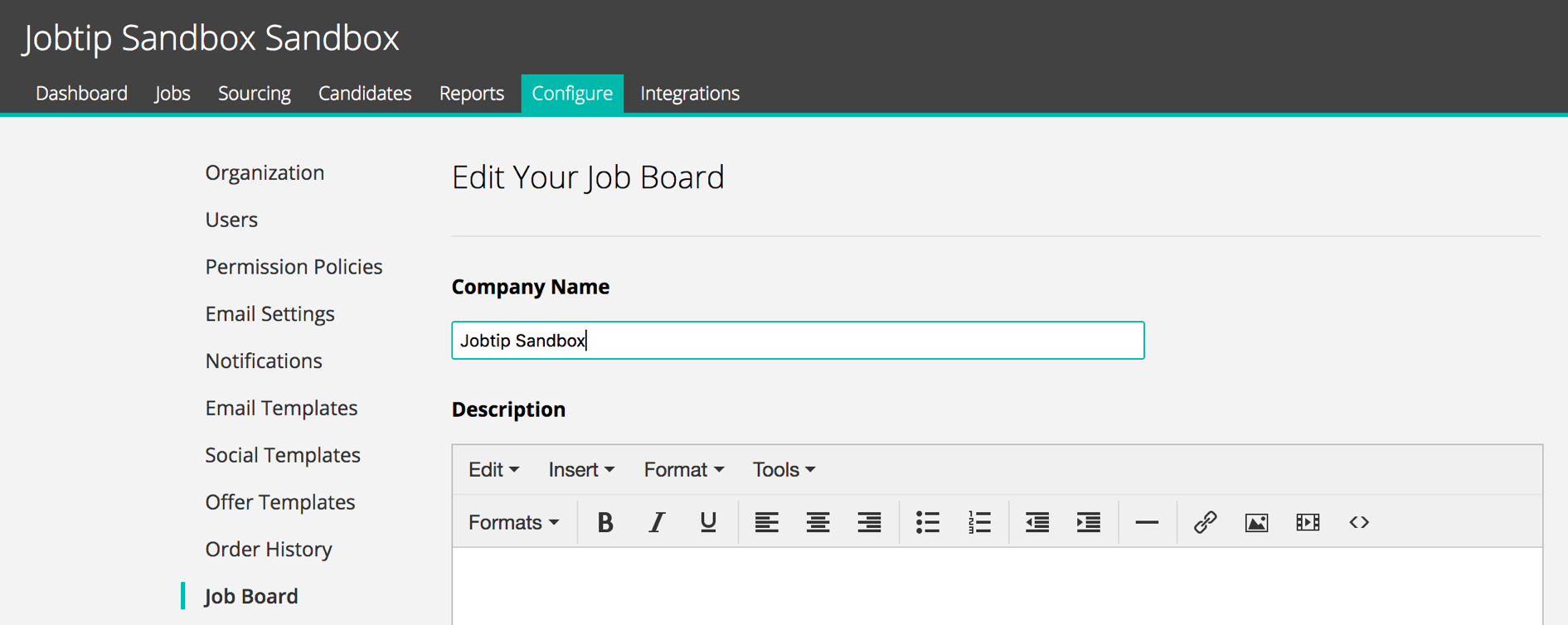 How To Enable The Jobtip Integration Greenhouse Support