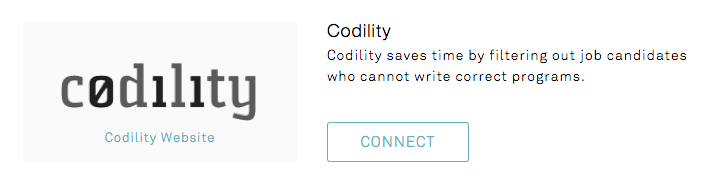 I use Codility  What does the integration look like? How do I enable