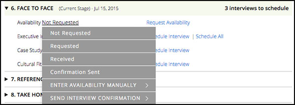 What Is Candidate Availability How Do I Use It Greenhouse Support - Availability schedule template