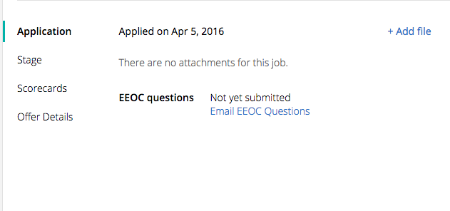How Do I Send An Eeo Survey To Candidates Who Didn T Apply Through
